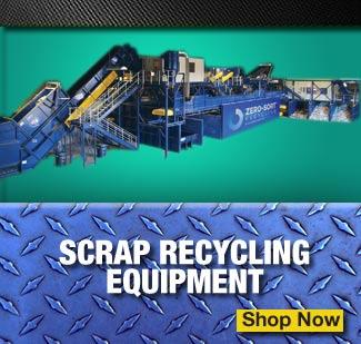 scrap recycling equipment