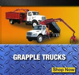 grapple garbage trucks for sale
