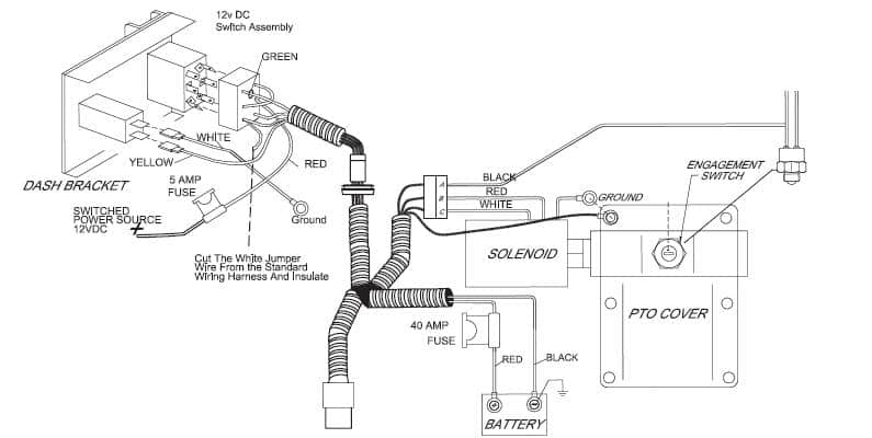 troubleshooting pto installation working through the bugs Chelsea PTO Wiring Diagram