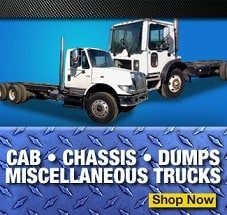 cab chassis dump trucks for sale