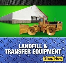 landfill and transfer equipment for sale