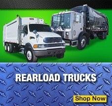 rear load garbage trucks for sale