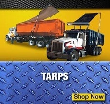 garbage truck tarps for sale
