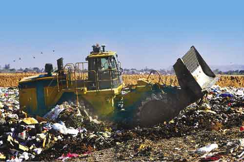 largest landfills