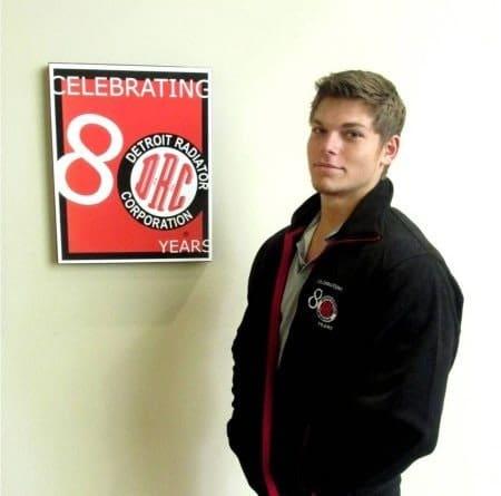 Photo of Brandon Pruitt, Customer Service Representative and Son of CEO,…
