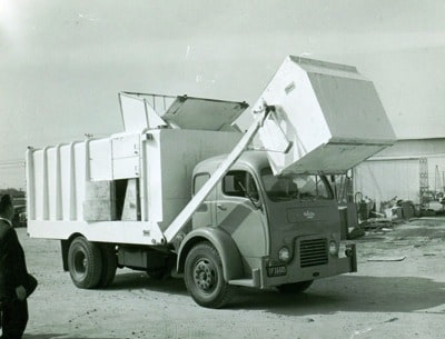 Front Load Refuse Truck