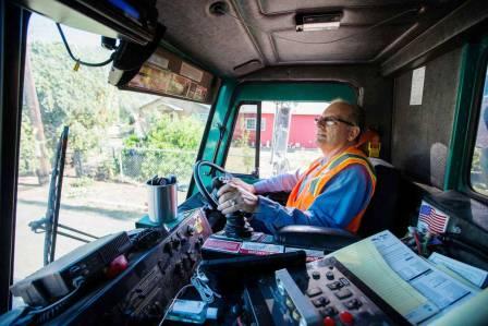 Yakima Garbage Truck Driver