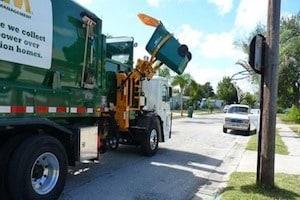Storm debris collection