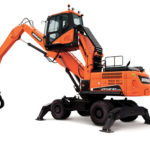 Doosan DX210WMH 5 Wheel Material Handler